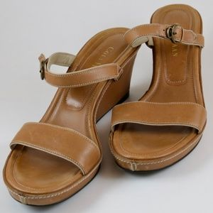 Cole Haan Tan Wedge Size 7